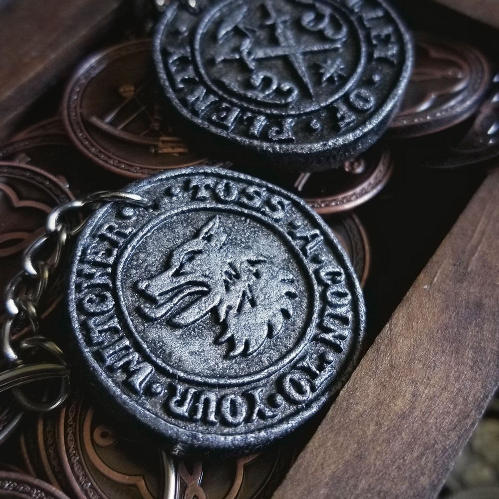 Keychains, Pins & Stickers